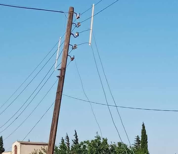 سرقة شبكات الكهرباء في حمص مستمرة.. 250 ضبطا منذ بداية العام