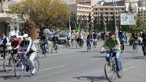 في ظل أزمة المواصلات.. سوق الدراجات الهوائية في حالة نشاط..
