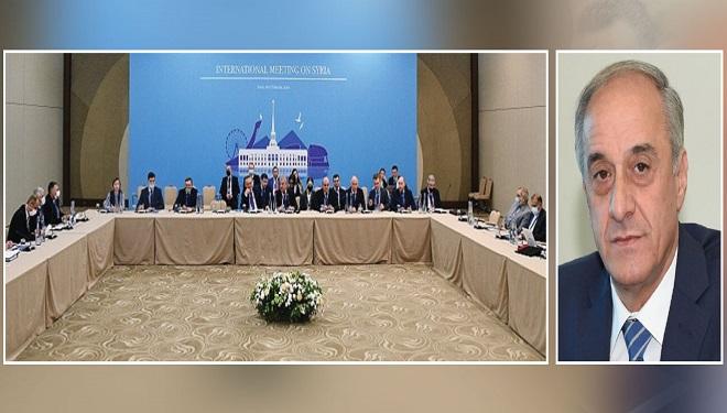 وفد الجمهورية العربية السورية إلى محادثات «أستانا» يصل إلى «نور سلطان» غداً