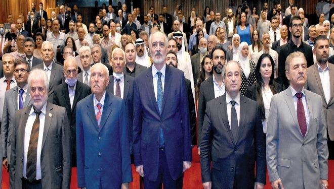 الجعفري: سورية كانت دائماً مفتاح «جيوبوليتيكي» في المنطقة وهناك ضرورة لإعادة زيارة التاريخ مرة ثانية …