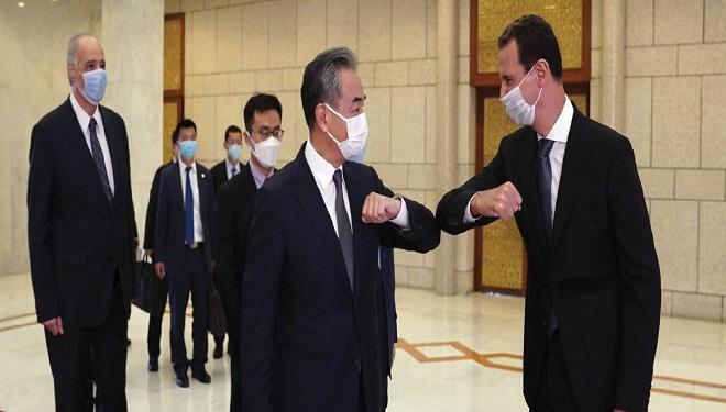 الرئيس الأسد مستقبلا وزير خارجية الصين: نتطلع إلى توسيع مجالات التعاون بالاستناد إلى حضوركم القوي وسياساتكم الأخلاقية