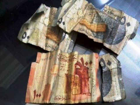 المصرف المركزي يستبدل أكثر من 16 مليون ليرة أوراق نقدية مشوهة
