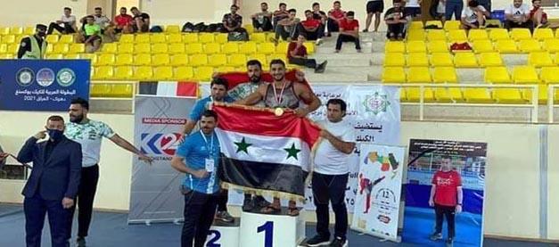 13 ميدالية لسورية في بطولة المنتخبات والأندية العربية للكيك بوكسينغ