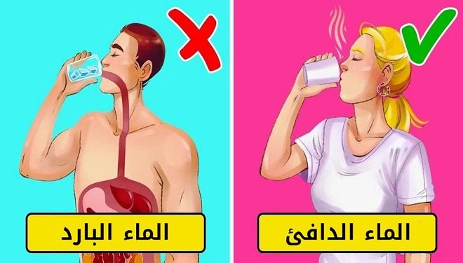 الماء الدافئ أم البارد؟ قم باختيار أحدهما وانظر إلى ما يحدث لجسمك