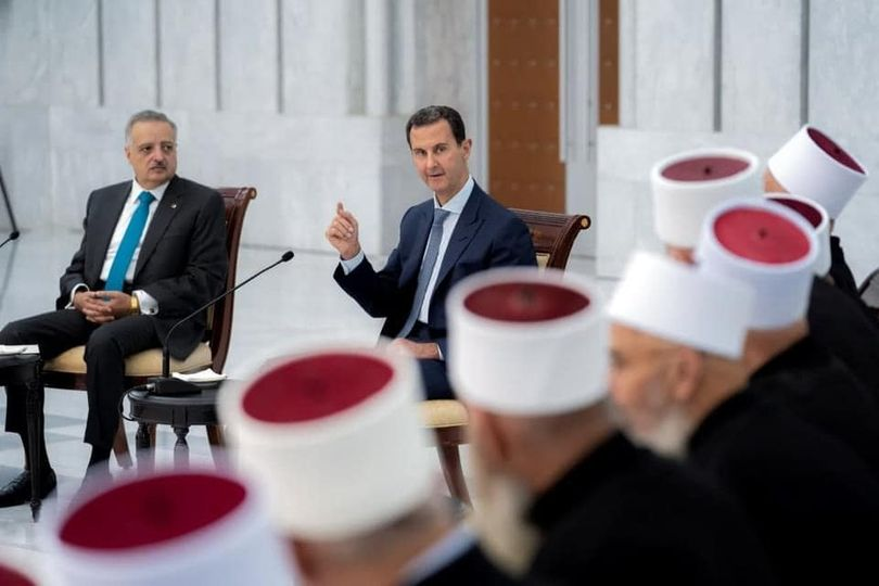 الأسد : المعركة التي يجب أن تخوضها القيادات هي معركة حماية العقول