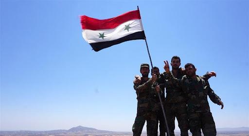 الجيش يدخل «درعا البلد» والعلم الوطني يرفرف فيها
