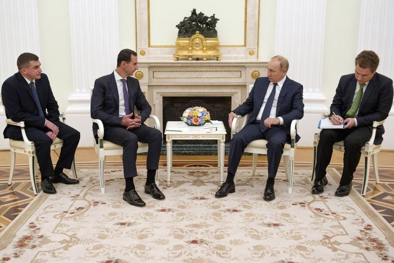 الرئيس الأسد خلال القمة مع الرئيس الروسي بوتين: