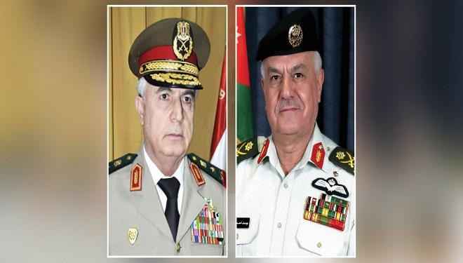 لضبط الحدود ومكافحة الإرهاب والتهريب.. مباحثات عسكرية سورية- أردنية