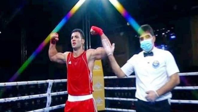 تأهل ملاكمنا علاء غصون إلى نصف نهائي بطولة العالم العسكرية