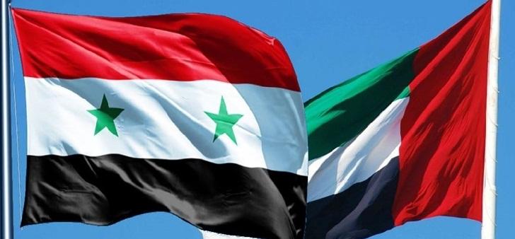 الإمارات أهم الشركاء التجاريين لسوريا.. البلدان يتفقان على خطط لتعزيز التعاون الاقتصادي