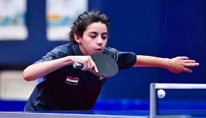 هند ظاظا إلى ربع نهائي بطولة عُمان بكرة الطاولة